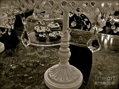 Photograph - Crystals And Cupcakes by LeLa Becker