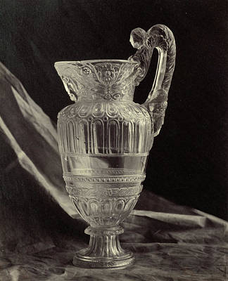 Louvre Drawing - Crystals Jug, From The Louvre, Charles Thurston Thompson by Artokoloro