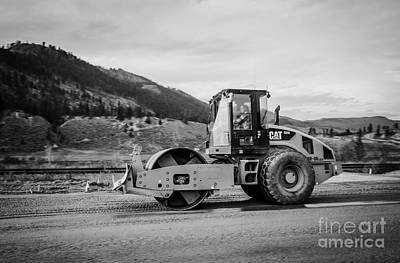 Artist Working Photograph - Cs56 Black And White by Alanna DPhoto
