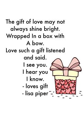 Photograph - Loves Gift by Lisa Piper