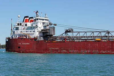 Photograph - Csl Niagara by Mary Bedy