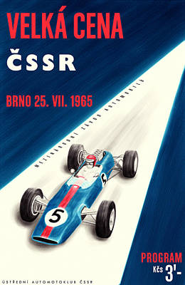 Icon Reproductions Digital Art - Cssr Grand Prix 1965 by Georgia Fowler