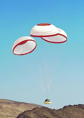 Cst-100 Crew Capsule Testing Print by Nasa/boeing