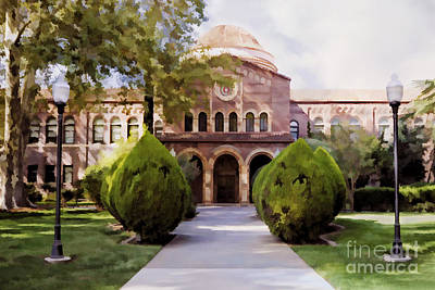 Photograph - Csu Chico - Kendall Hall by Kathleen Gauthier