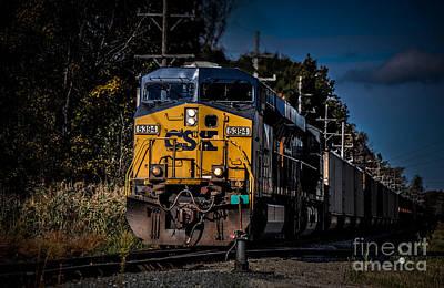 Photograph - Csx  5394 by Ronald Grogan