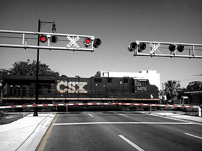Photograph - Csx Train by Bruce Kessler