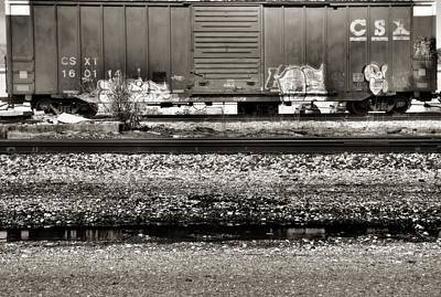 Photograph - Csx Train by Dan Sproul