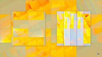 Digital Art - Guadro Di Guadreti by Halina Nechyporuk