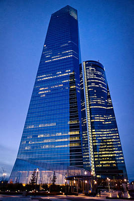 Photograph - Cuatro Torres Business Area by Pablo Lopez