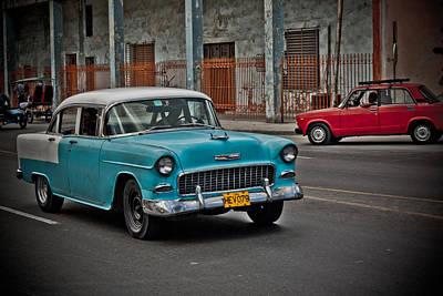 Amador Photograph - Cuba - Car V by Amador Esquiu Marques