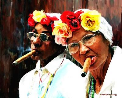 Digital Art - Cuba - Caribbean Serie by Gabriel T Toro