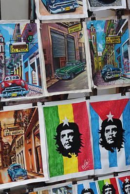Cuba, Havana, Havana Vieja, Centro Print by Walter Bibikow