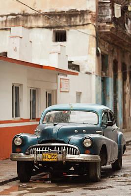 Cuba Photograph - Cuba, Havana, Havana Vieja, Morning by Walter Bibikow