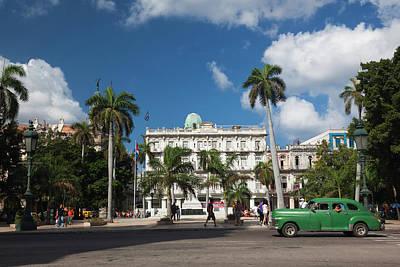 Cuba Photograph - Cuba, Havana, Havana Vieja, The Parque by Walter Bibikow