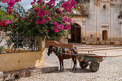 Art Print featuring the photograph Cuba Impression by Juergen Klust