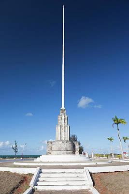 Raising Photograph - Cuba, Matanzas Province, Cardenas by Walter Bibikow