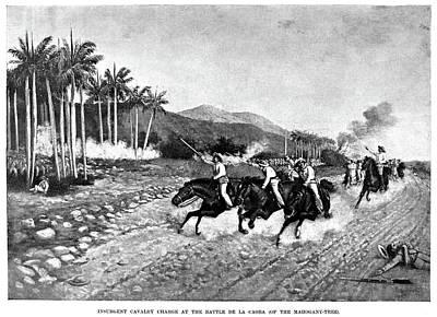 Dirt Roads Drawing - Cuba Revolution, 1895-1897 by Granger