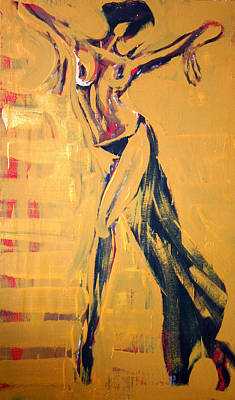 Painting - Cuba Rhythm by Jarmo Korhonen aka Jarko