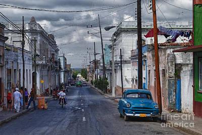 Art Print featuring the photograph Cuba Traffic by Juergen Klust