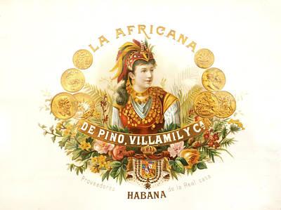 Photograph - Cuban La Africana Cigars Image Art by Jo Ann Tomaselli