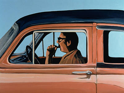 Fast Painting - Cuban Portrait #1, 1996 by Marjorie Weiss