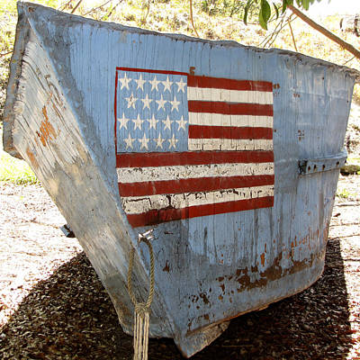Photograph - Cuban Refugee Boat 4 by Bob Slitzan