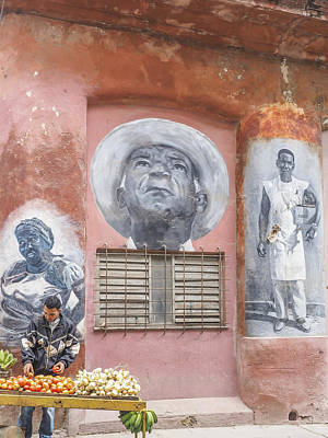 Photograph - Cuban Street Art by Jo Ann Tomaselli