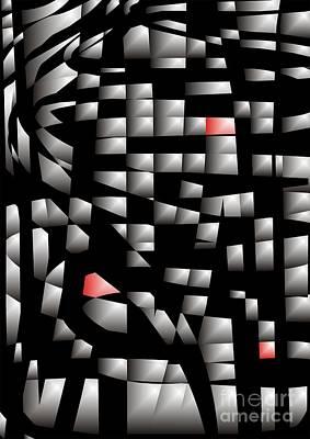 Digital Art - Cube 071 Marucii by Marek Lutek