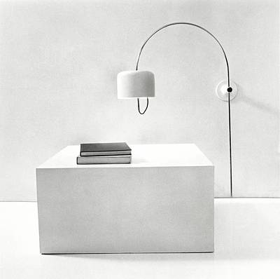 Lamp Photograph - Cube Table And Wall Lamp by Tom Yee