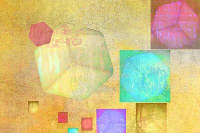 Alexander Calder Digital Art - Cube Ten by Linda Dunn