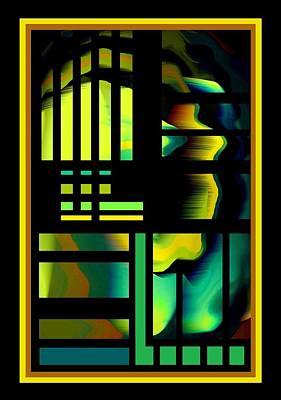 Cubes Art Print by Steve Godleski