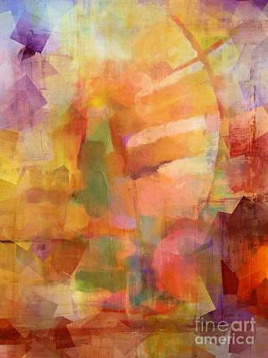 Cubic Impression Print by Lutz Baar