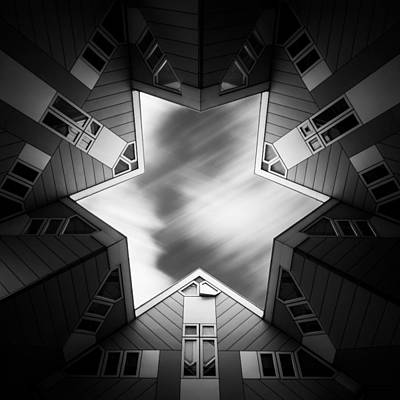 Striking Photograph - Cubic Star by Dave Bowman
