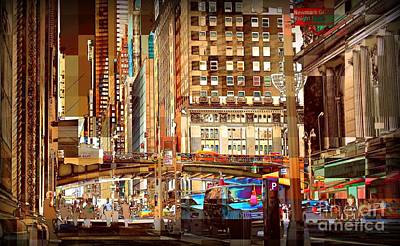 Grand Central And 42nd St Art Print by Miriam Danar