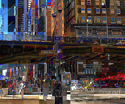 Photograph - Pershing Square And 42nd Street - New York City by Miriam Danar