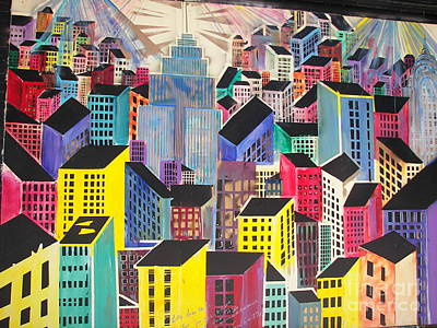 James Dolan Photograph - Cubist New York by James Dolan