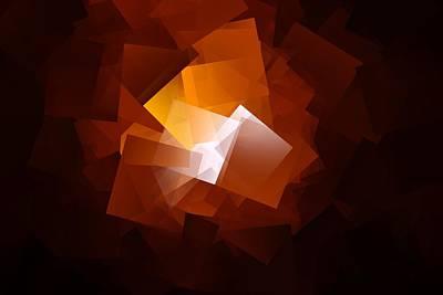 Digital Enhancement Photograph - Cubistic Focus by Jeff Swan