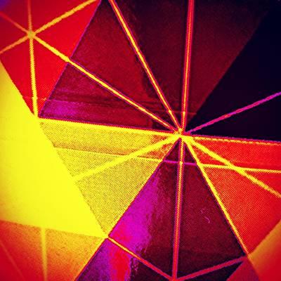 Colour Photograph - Cubistic Sign In Colour by Jason Michael Roust