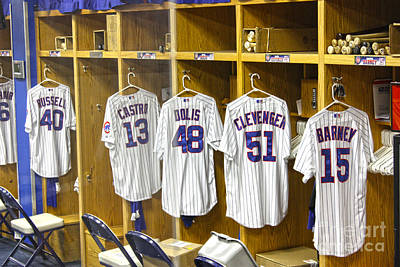 Friendly Confines Photograph - Cubs Working Clothes by David Bearden