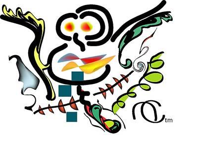 Cuckoo Digital Art - Cuckoo's Nest by Andy Cordan