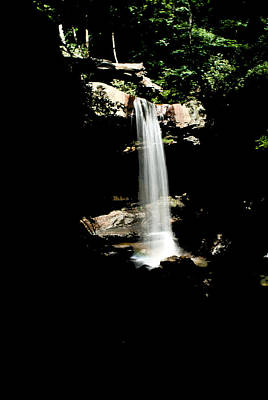 Art Print featuring the photograph Cucumber Falls Wat 208 by G L Sarti