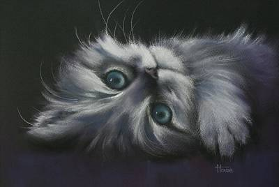 Cuddles Art Print by Cynthia House