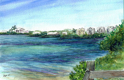 Painting - Cudjoe Bay 2 by Clara Sue Beym