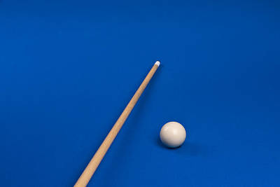 Photograph - Cue Stick And The Ball by Marek Poplawski