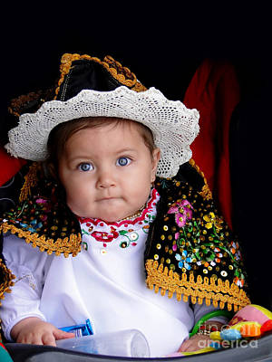 Christmas Eve Photograph - Cuenca Kid 561 by Al Bourassa