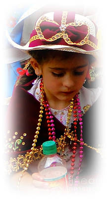 Special Necklace Photograph - Cuenca Kids 244 by Al Bourassa