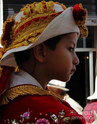 Christmas Eve Photograph - Cuenca Kids 249 by Al Bourassa