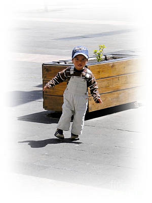 Cuenca Kids 279 Art Print by Al Bourassa