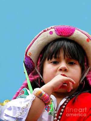 Christmas Eve Photograph - Cuenca Kids 297 by Al Bourassa