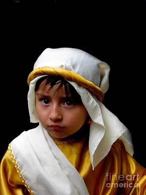 Christmas Eve Photograph - Cuenca Kids 300 by Al Bourassa